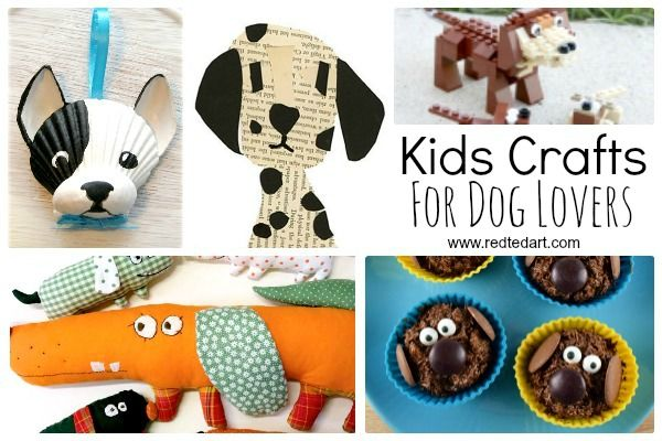 2716 best latest from red ted art images on pinterest for Dog craft ideas