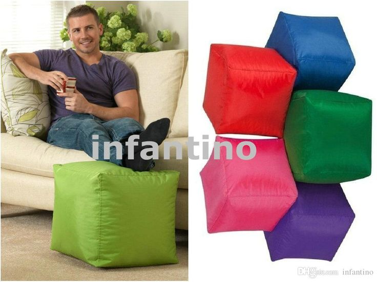 2016 Bean Bags Footstool, Waterproof Pouffe, Pouf Beanbag Ottoman,Outdoor Furniture Small Bean Bag Chair Cheap Bean Bag Foot Stool, Rest Cushion From Infantino, $14.08 | Dhgate.Com