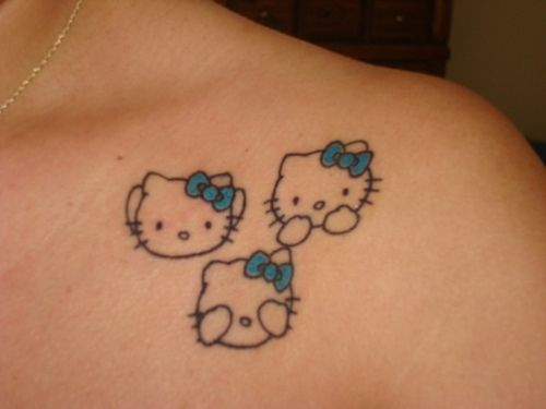 I <3 HELLO KITTY..NOW TO JUST GET THIS TATTOO!