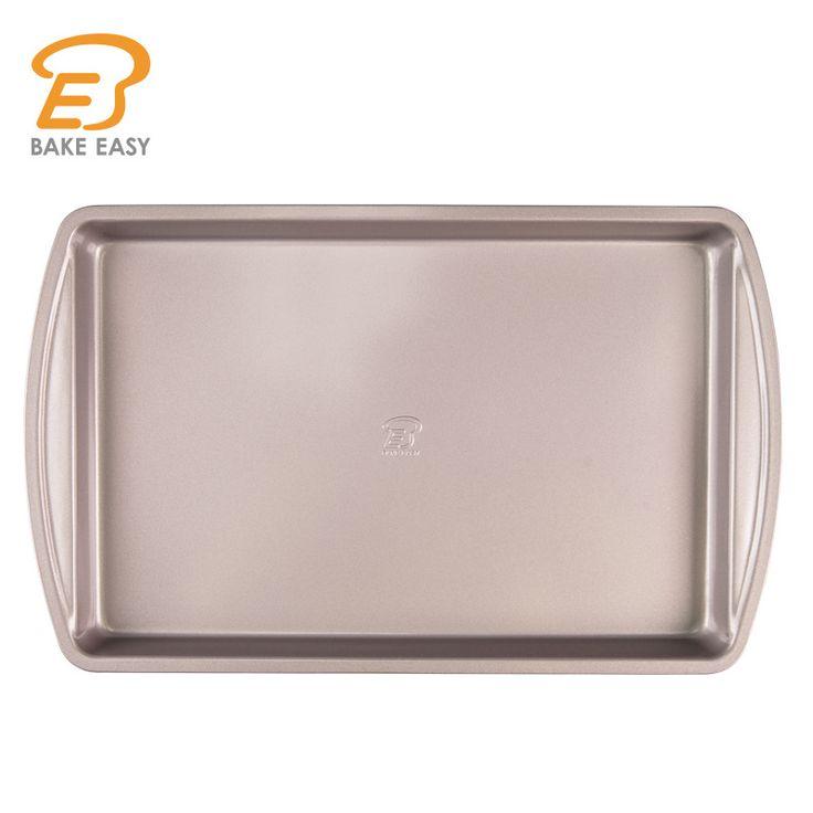 New 19in/49cm Rectangular Cake Pan LFGB Certified Bread Cake Mold Baking Pastry Tools Nonstick Pan Bakeware Set CP26