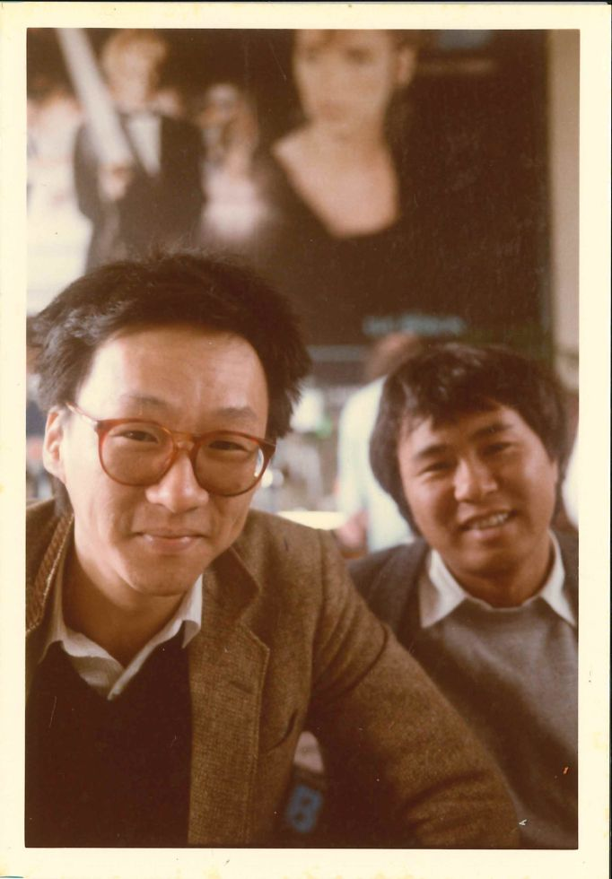 Edward Yang and HOU Hsiao-hsien