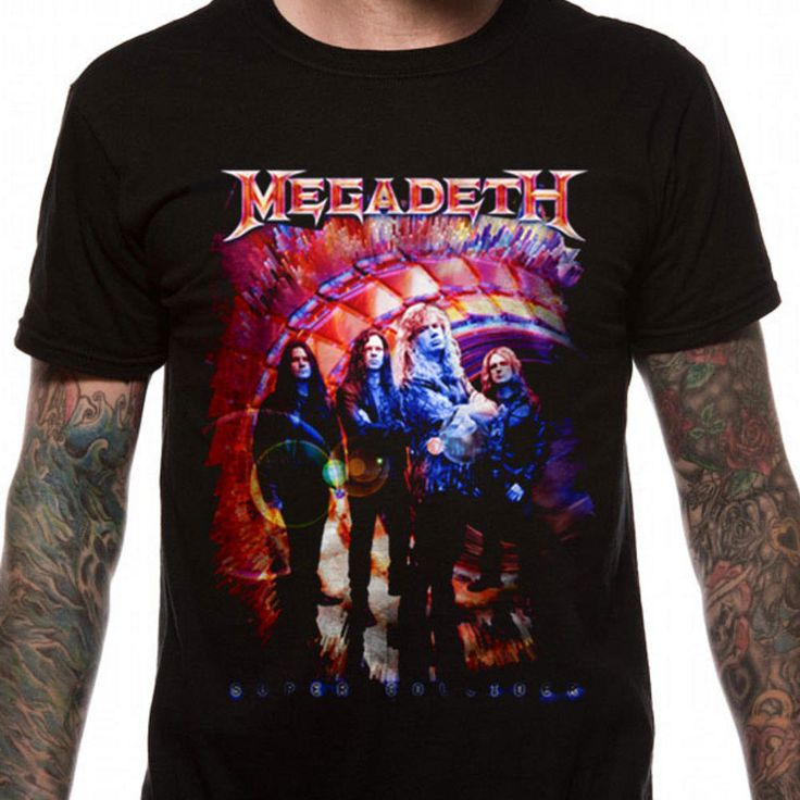 >> Click to Buy << 2017 Fashion Gildan Graphic Men Crew Neck Megadeth Super Collider Short-Sleeve T Shirts O-Neck Short-Sleeve Shirt For Men #Affiliate