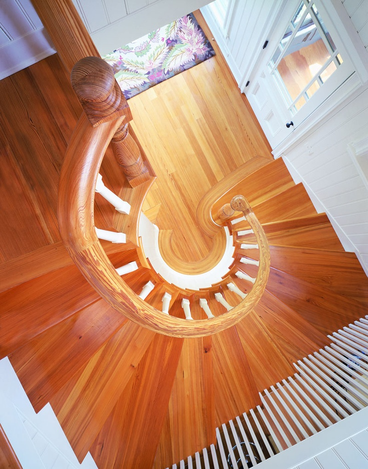 Our Premium Grade Of Heart Pine Stair Treads