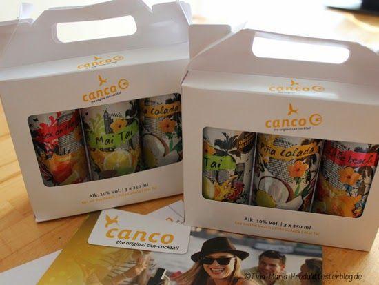 Tina-Maria Produkttesterblog: Canco - Cocktails aus der Dose