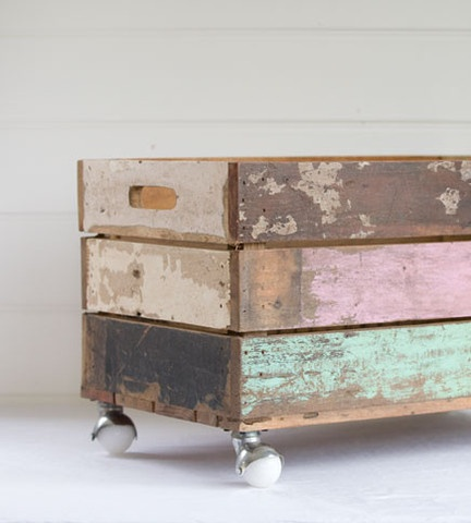 Wooden Toy Box On Wheels - WoodWorking Projects & Plans
