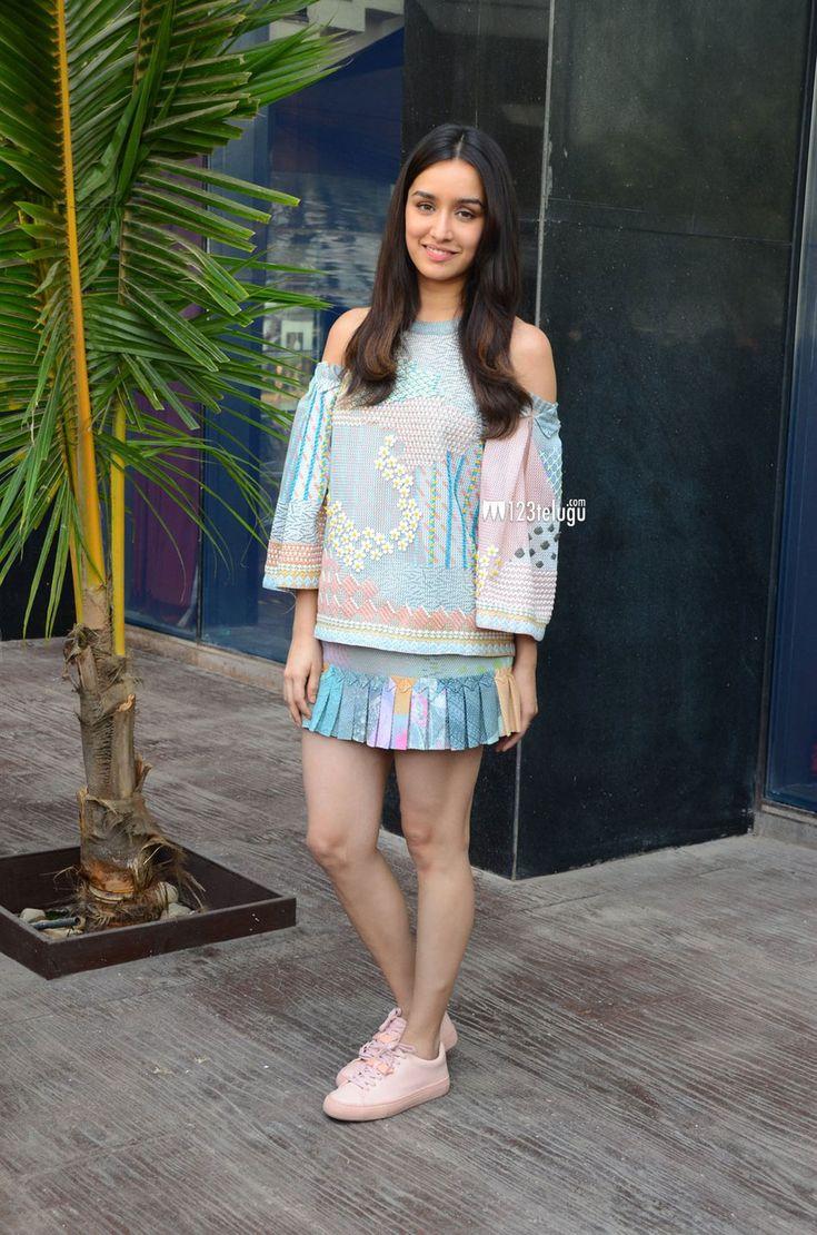 Shraddha Kapoor at Ok Jaanu promotions