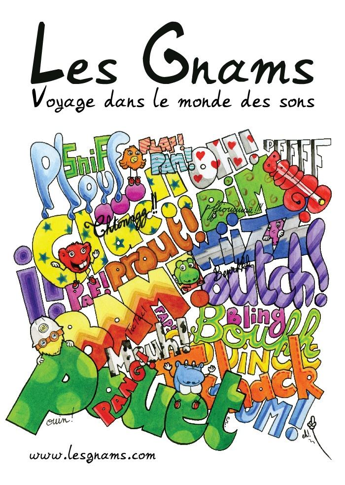 #illustration #drawing #art #kids #painting Les Gnams - Nouvel album - Voyage dans le monde des sons