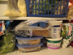 10 Easy Prep Foods You'll Always Find in my Freezer: Balance Nutrition, Kitchens Stewardship, Freezers Prep, Freezers Meals Fresh Produce, Food Storage, Baby Steps, Freeze Food, Veggies, Freezers Ideas
