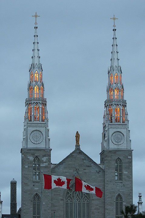 Notre-Dame Cathedral Basilica, Ottawa, Canada
