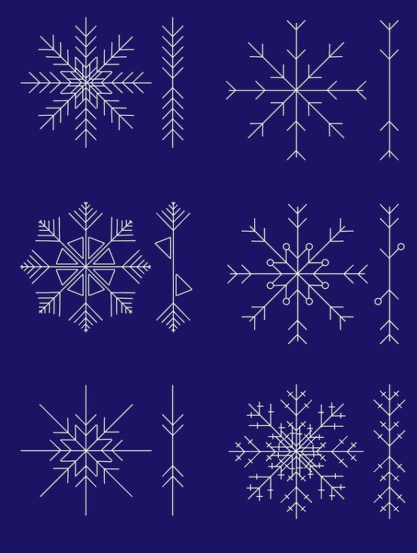 I always find the need to draw snowflakes sometime every Christmas - learn how to draw them like a pro and they'll always look great!