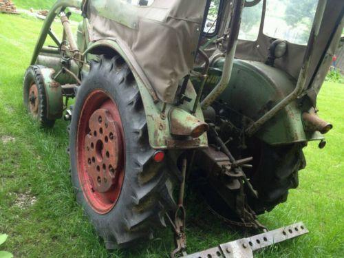 Bulldog Fendt Farmer 2 Dieselross Oldtimer Bj.62 1.Hd. en Bavière - Landshut | remorques d'automobile à vendre | Kijiji