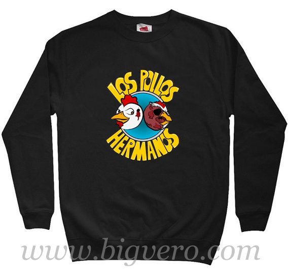 Los Pollos Hermanos Sweatshirt Size S-XXL //Price: $29.00    #clothing #shirt #tshirt #tees #tee #graphictee #dtg #bigvero #OnSell #Trends #outfit #OutfitOutTheDay #OutfitDay