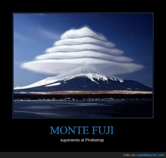 MONTE FUJI - superando al Photoshop | Arte | Pinterest