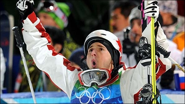 Alex Bilodeau First Canadian to Win Gold Medal on Home Soil Vancouver 2010