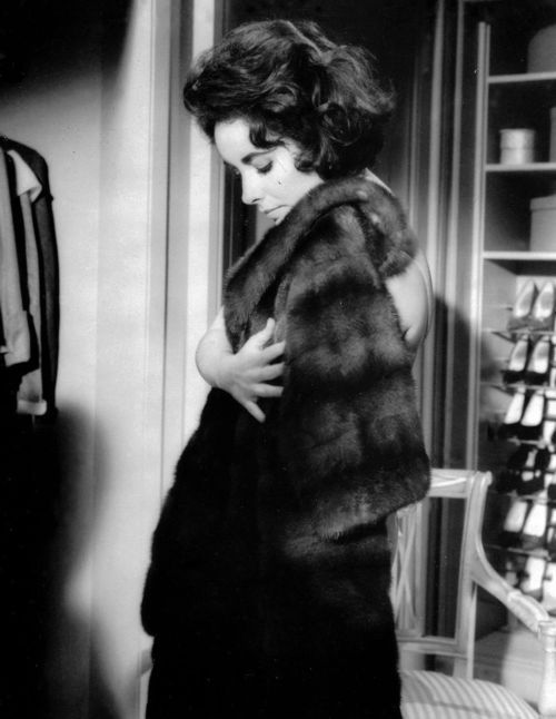 Actress Elizabeth Taylor (1932-2011) in a scene from Butterfield 8 (1960).