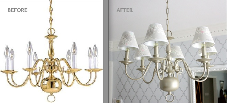 17 Best Ideas About Light Fixture Makeover On Pinterest: Best 25+ Brass Chandelier Makeover Ideas On Pinterest
