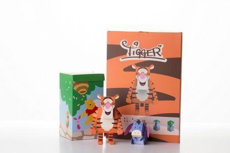 Geekstra.com'dan MOMOT Disney Paper Toyz! Tigger & Eeyore