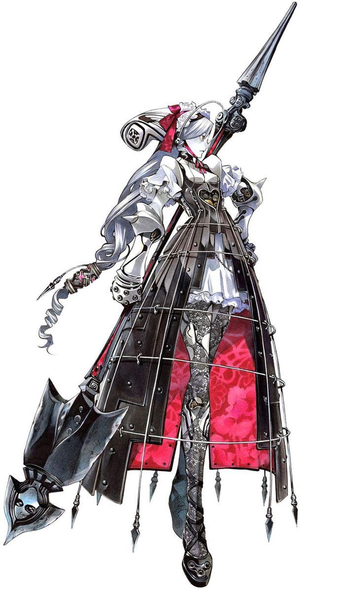Soul Calibur IV: Ashlotte. This character design is amazing to me. *_* Too bad Soulcalibur has fine design but horrid story. -_-
