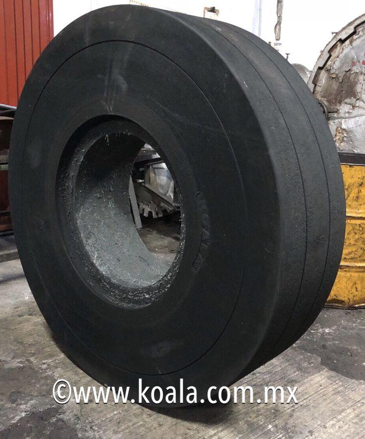 #Llanta #solida #resiliente #KOALA 16.00x25 para #cargador frontal - máxima durabilidad y capacidad de carga
