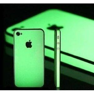 Amazon.com: iphone Glow in the Dark Luminescent Skin Full Body Sticker Bumper