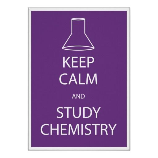 how to study for chemisrty