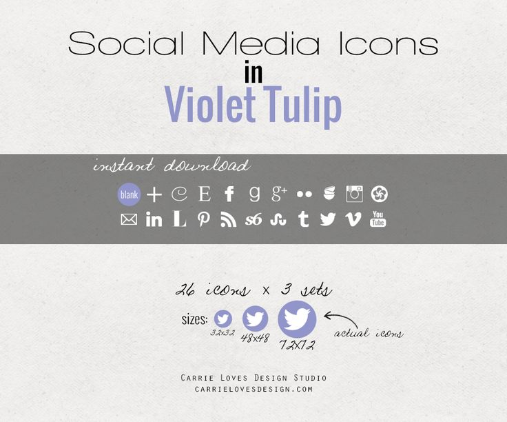 Example of warm mint social media icon set – each set is similar to this, with the exception of color. What you'll get: .ZIP file containing .png social media icons 22 commonly used social media icons + a blank one for you to customize 3 different sizes so you're effectively getting 69 icons for free...Read More »