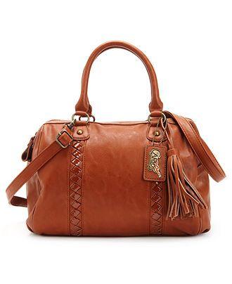 I have this purse, and I love it! Carlos by Carlos Santana Handbag, Interlude Barrel Satchel
