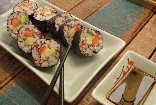 Gezonde Quinoa Sushi!   Healthy and Handsome
