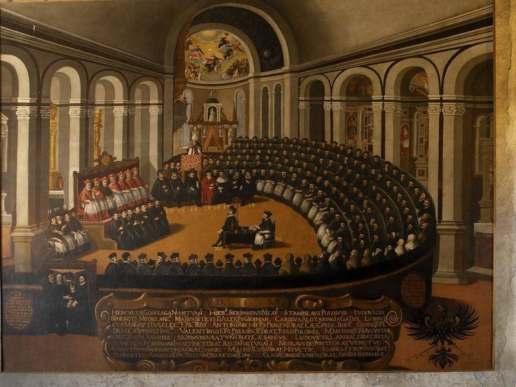 November 19 1544.  Pope Paul III opened Council of Trente (Italy).