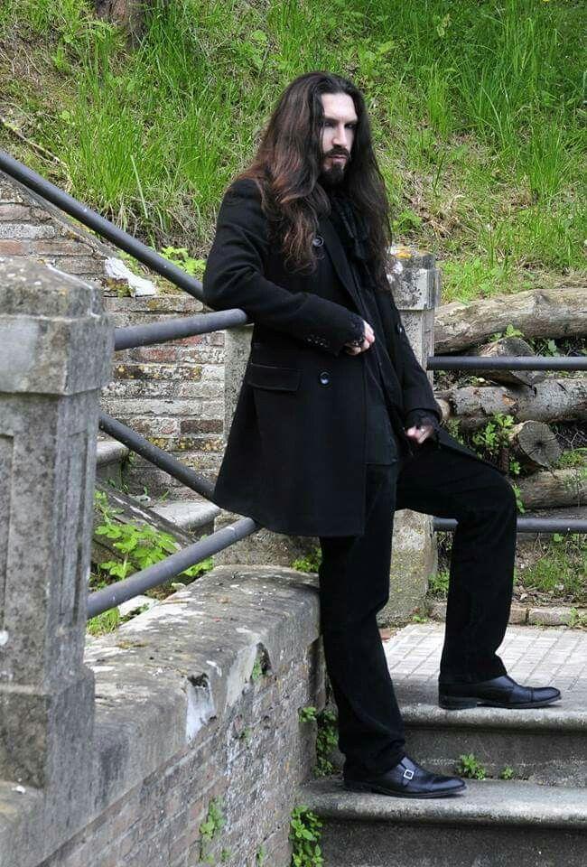 Asdrall Long Hair Styles Men Gothic Fashion Men Goth Guys