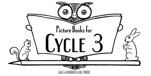 CC Cycle 3 Picture Books: American history, anatomy, elements, drawing, and more.