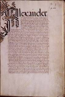 A Papal Bull Dudum siquidem, Pope Alexander VI dated September 26, 1493, which extended the Spanish claim to the New World to include all future Spanish explorations.