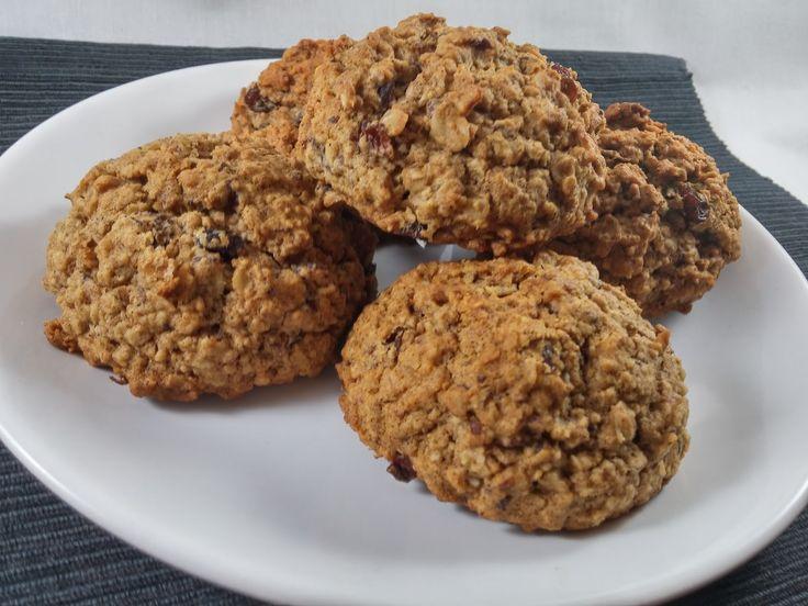 Krysy v Kuchyni: Bezlepkové Cookies z Ovesných vloček s rozinkami