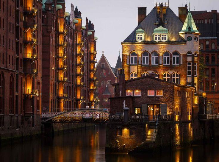Wasserschloss Hamburg's Speicherstadt (Warehouse District) by Bruce A. on 500px ~ Germany