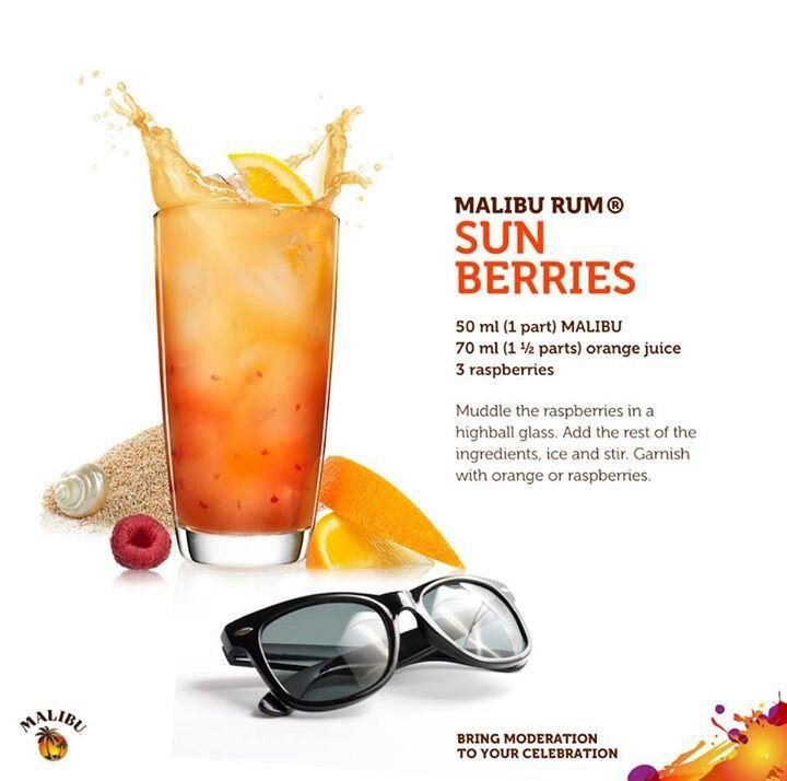 Malibu Rum Sun Berries
