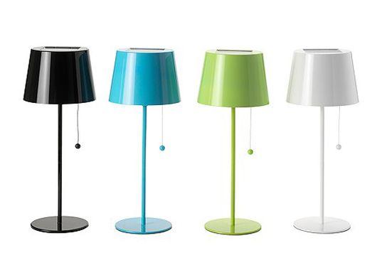 Ikea solar powered lamps
