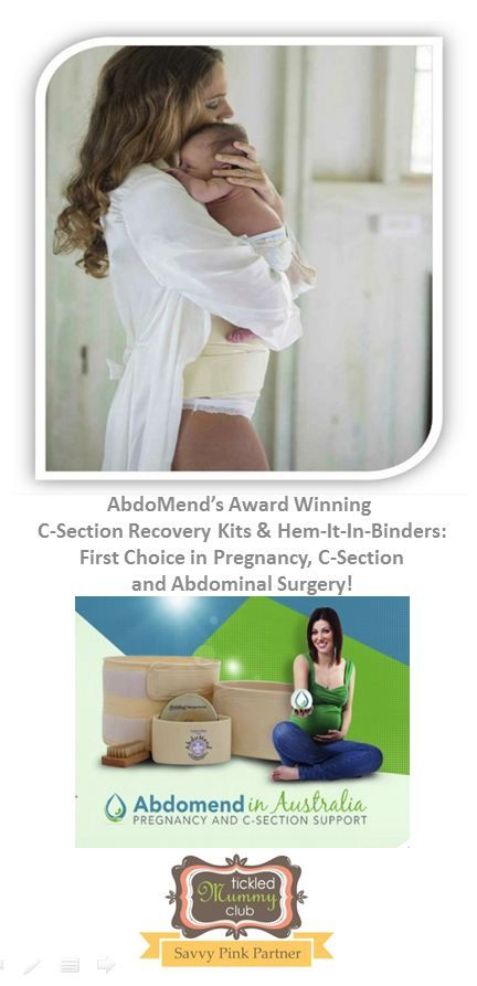 {GotTickled} Savvy Pink Members ENJOY 10% OFF AbdoMend's products!!! AbdoMend's Award Winning C-Section Recovery Kits & Hem-It-In-Binders are first Choice in Pregnancy, C-Section and Abdominal Surgery! Their products are designed to provide relief and care for lower back support, hernia, hysterectomy and abdominal surgery and much more.  #TickledMummyClub  #CSectionRecovery #AbdoMendAu