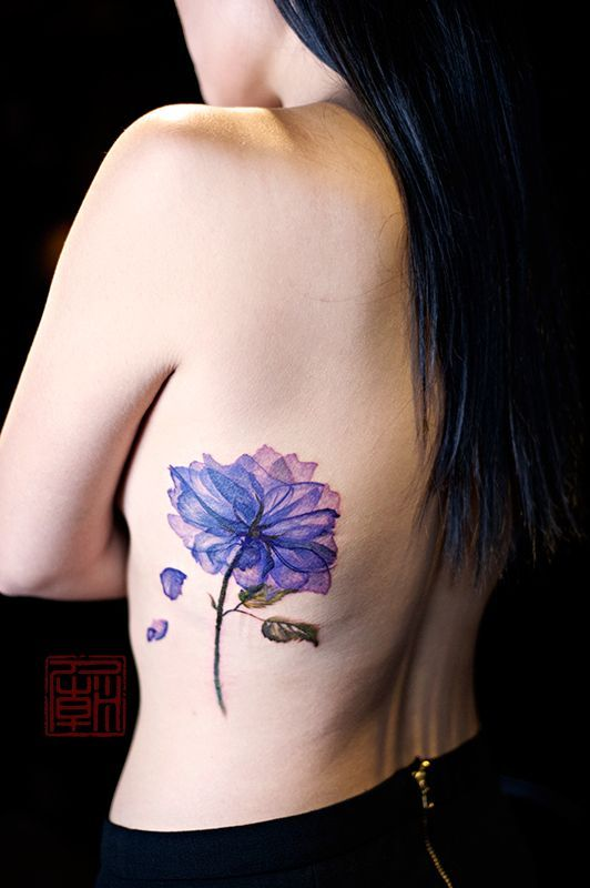 1000 ideas about blue flower tattoos on pinterest flower tattoos tattoos and flower tattoo. Black Bedroom Furniture Sets. Home Design Ideas
