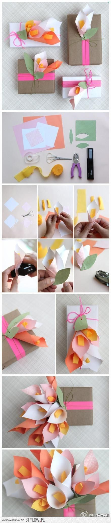 Gift wrapping idea. #christmas #gift #DIY #wrapping