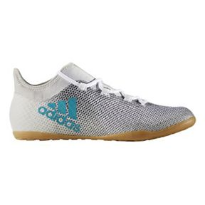 adidas X Tango 17.3 Indoor Soccer Shoes (White/Energy Blue): http://www.soccerevolution.com/store/products/ADI_13162_F.php