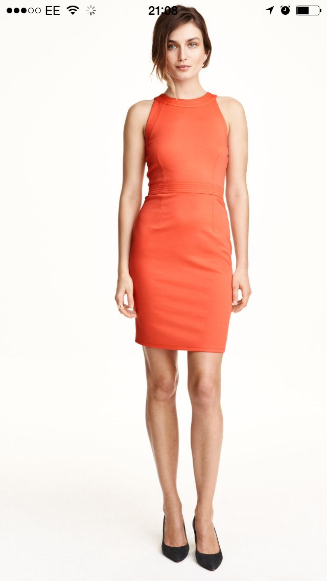 H M Coral Work Dress Got To Have Pinterest H M