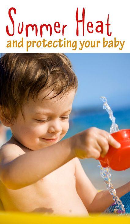 Helping Baby Beat the Summer Heat