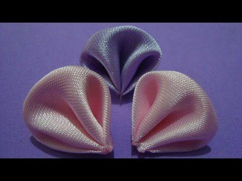 Flores de tecido - Aprender à fazer Linda Pétala de Flor de tecido - YouTube