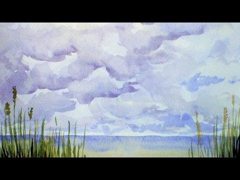 Let's Paint Clouds in Watercolor!