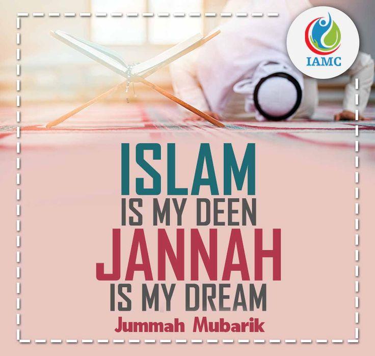 Jummah Mubarik! #iamc