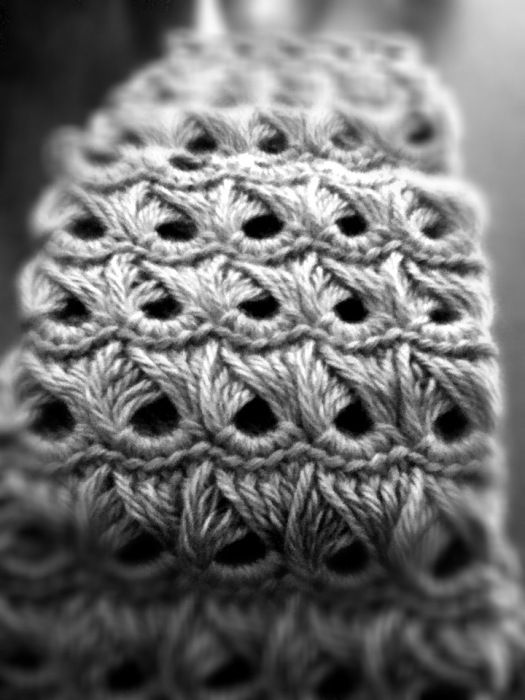 broomstick lace - crochet