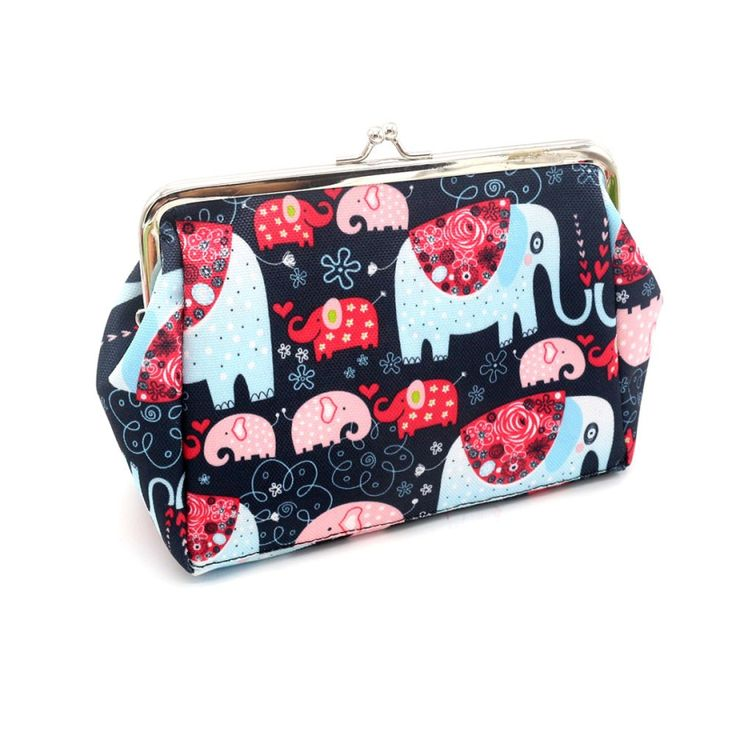 Best Deal New Women Lady Retro Vintage Elephant Print Small Wallet Hasp Purse Clutch Bag Organizer Wallets Gift 1PC #>=#>=#>=#>=#> Click on the pin to check out discount price, color, size, shipping, etc. Save and like it!