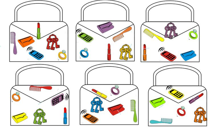 handtassenspel (tip: print 2X uit, knip uit het 2de alle vormpjes uit) de kls gooien met 2 dobbelstenen, 1 vormendobbelsteen, 1 kleurendobbelsteen, ze proberen zo snel mogelijk hun handtas te vullen met de juiste voorwerpen