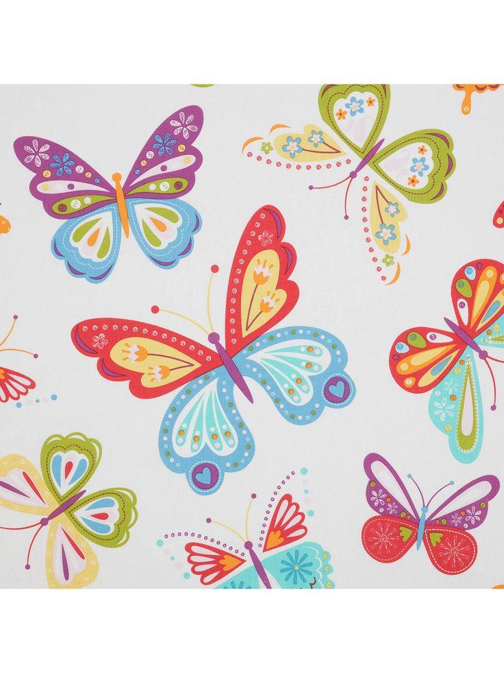 little home at John Lewis Butterflies Pencil Pleat Pair ...