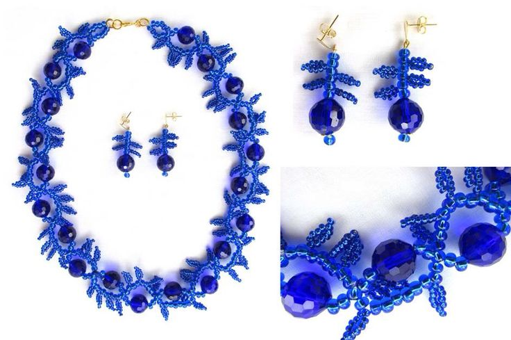 Necklace, Jewerly, Blue